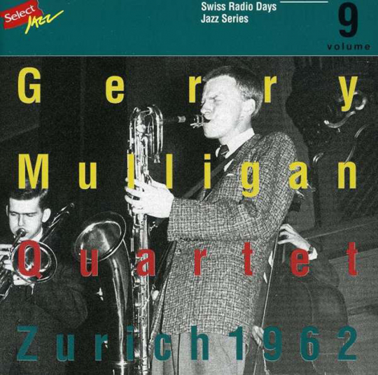 Gerry Mulligan. Zürich 1962. CD.
