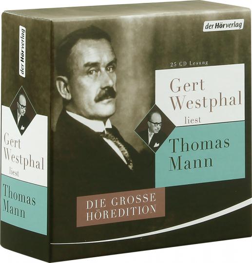 Gert Westphal liest Thomas Mann. Die große Höredition. 25 CDs.