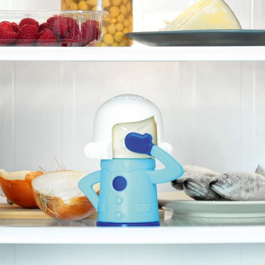 Geruchsvernichter für Kühlschränke.