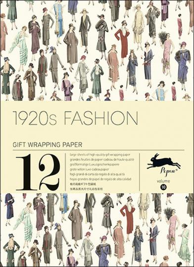 Geschenkpapier-Buch »1920s Fashion«.