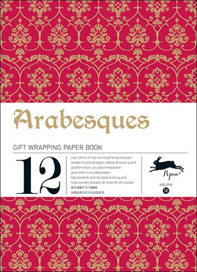 Geschenkpapier-Buch »Arabesque«.
