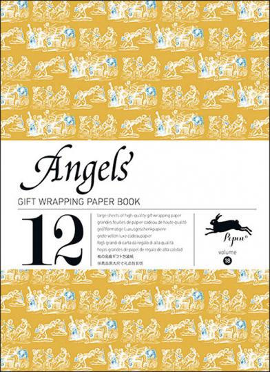 Geschenkpapier-Buch »Engel«.
