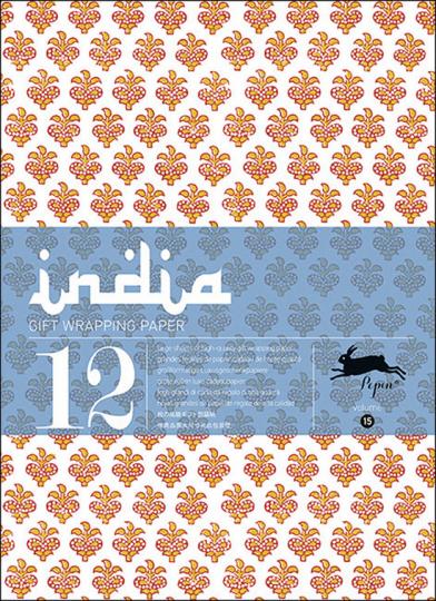 Geschenkpapier-Buch »India«.