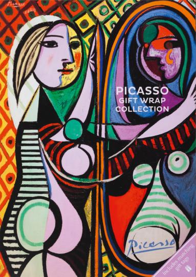 Geschenkpapier-Buch »Picasso«.