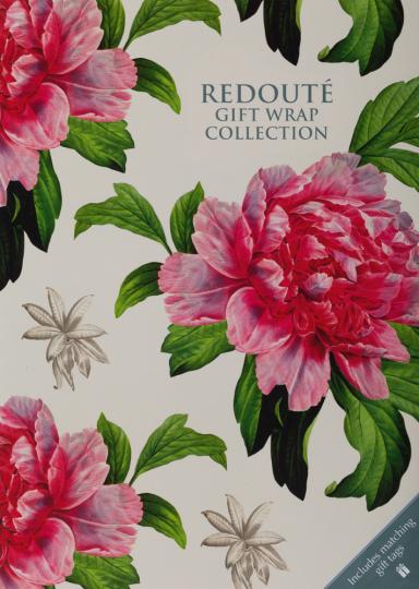 Geschenkpapier-Buch »Redouté«.
