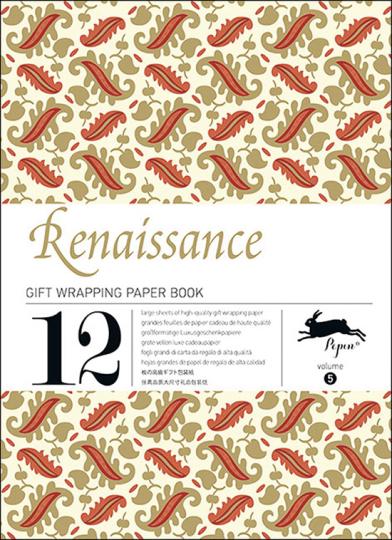 Geschenkpapier-Buch »Renaissance«.