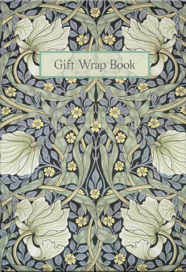 Geschenkpapier-Buch »William Morris«.