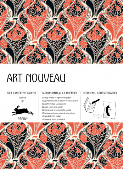 Geschenkpapier »Art Nouveau«.