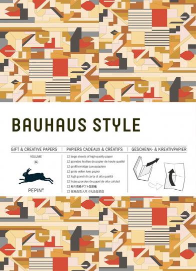 Geschenkpapier »Bauhaus«.
