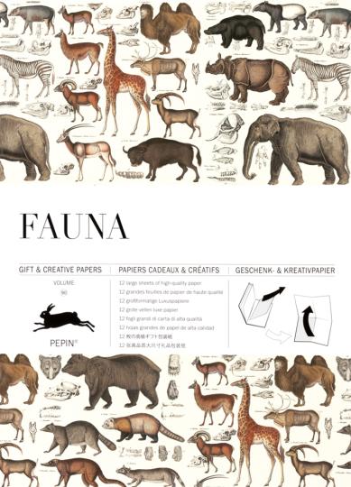 Geschenkpapier »Fauna«.