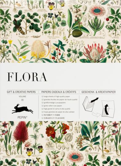 Geschenkpapier »Flora«.