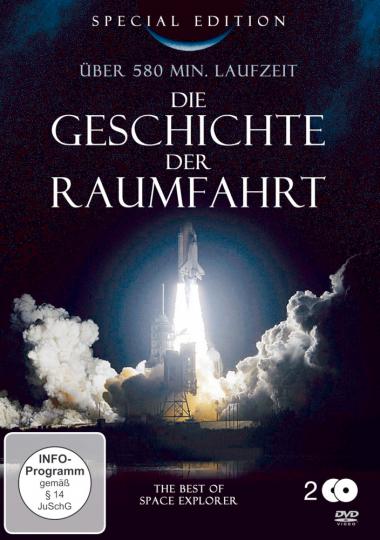 Geschichte der Raumfahrt 2 DVDs