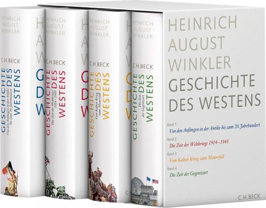 Geschichte des Westens. In 4 Bänden.
