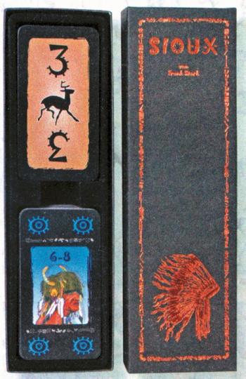 Geschichts-Kartenspiel Sioux