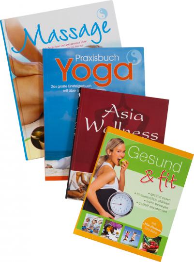 Gesund und fit - Das Rundum-Wohlfühl-Paket 4 Bände