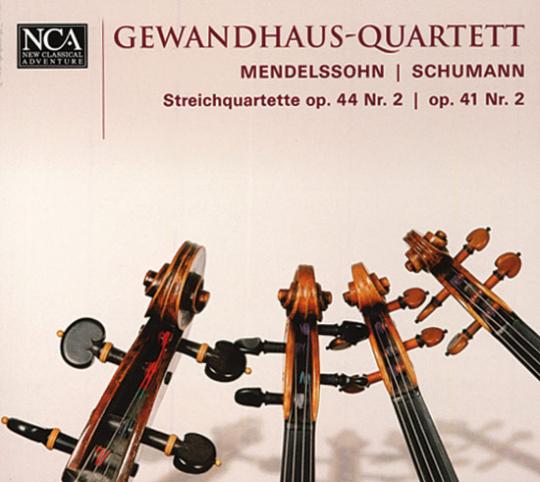 Gewandhaus-Quartett. Mendelssohn Schumann.