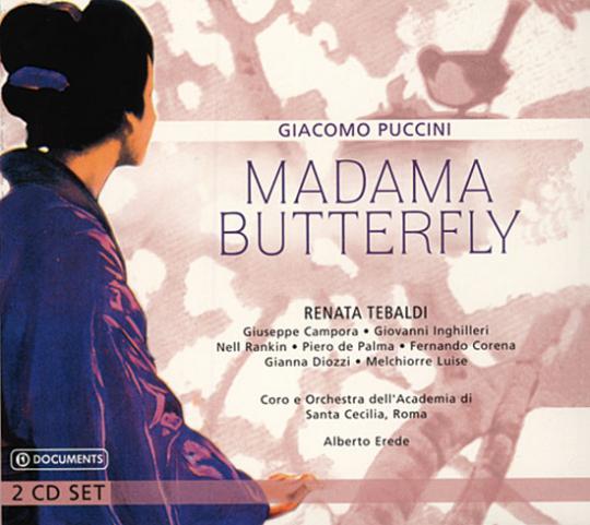 Giacomo Puccini. Madama Butterfly. Renata Tebaldi.