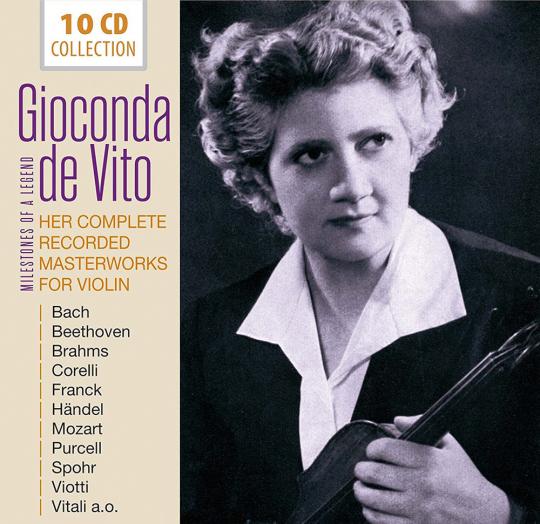 Gioconda De Vito. Her Complete Recorded Masterworks for Violin. Meisterwerke für Violine. 10 CDs.