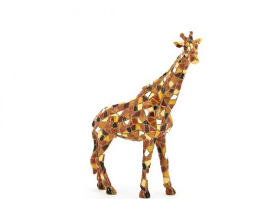 Giraffe aus Mosaik.