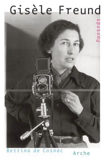 Gisèle Freund. Porträt.