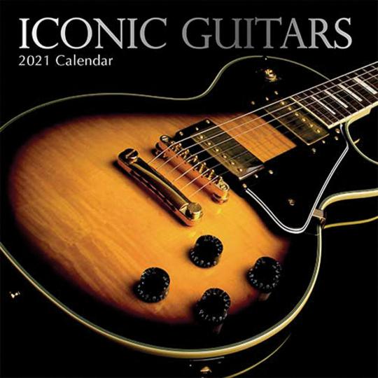 Gitarren. Wandkalender 2021.