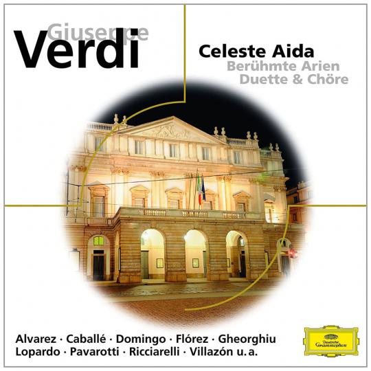 Giuseppe Verdi. Celeste Aida - Berühmte Arien, Duette & Chöre. CD.