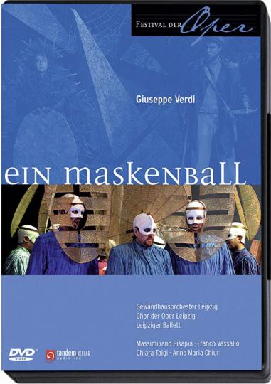 Verdi - Ein Maskenball. DVD