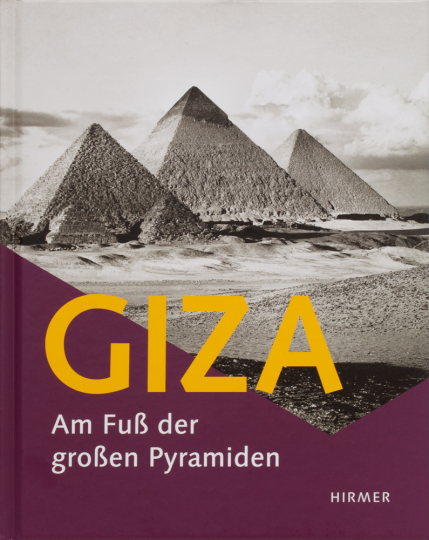 Giza. Am Fuß der großen Pyramiden.