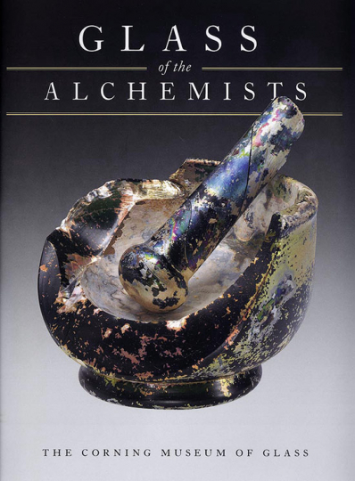 Glass of the Alchemists. Das Glas der Alchemisten. Lead Crystal - Gold Ruby 1650-1750.