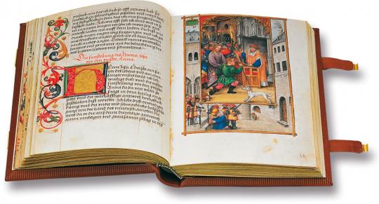 Glockendon-Gebetbuch von 1534. Faksimile und Kommentarband. Limitierte und nummerierte Auflage.