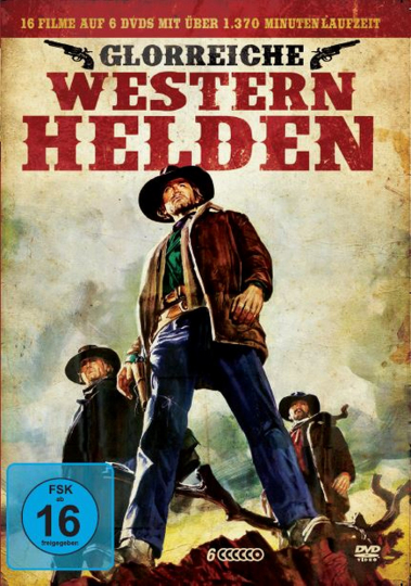 Glorreiche Western-Helden-Box 6 DVDs