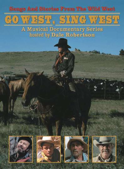 Go West, Sing West. Songs und Stories aus dem Wilden Westen. 2 DVDs.