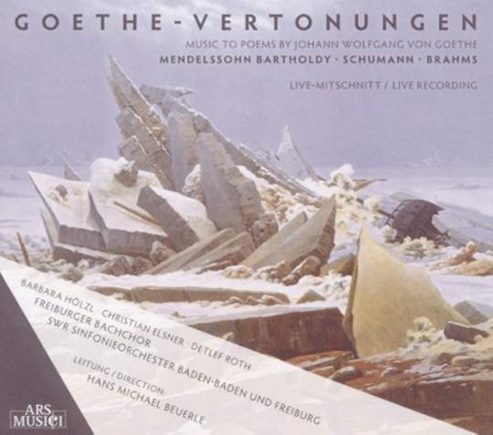Goethe Vertonungen CD