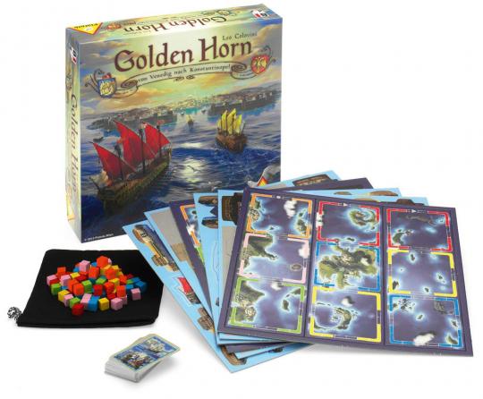 Golden Horn. Von Venedig nach Konstantinopel. Ein spannendes Strategiespiel für die ganze Familie.