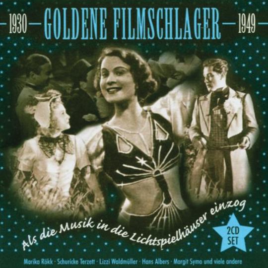 Goldene Filmschlager 1930-1949. 2 CDs.