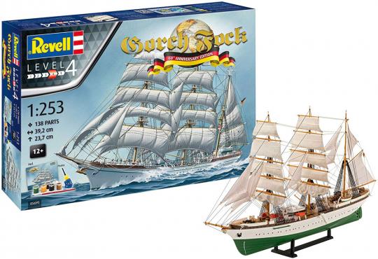 Gorch Fock. 60 Jahre Jubiläumsmodell.