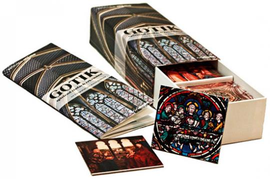 Gotik spielend einfach erkennen. Gedächtnisspiel für Kinder und Erwachsene.