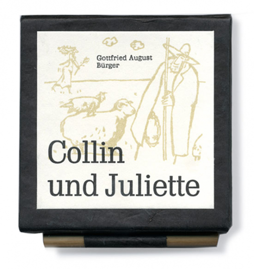 Gottfried August Bürger. Collin und Juliette.