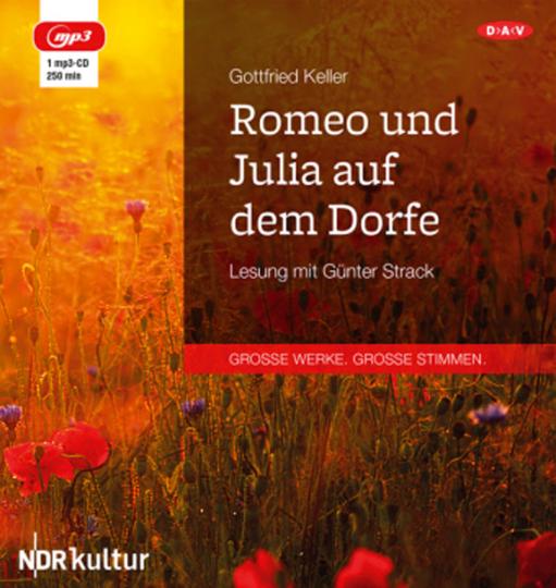 Gottfried Keller. Romeo und Julia auf dem Dorfe. Hörbuch. 1 CD.