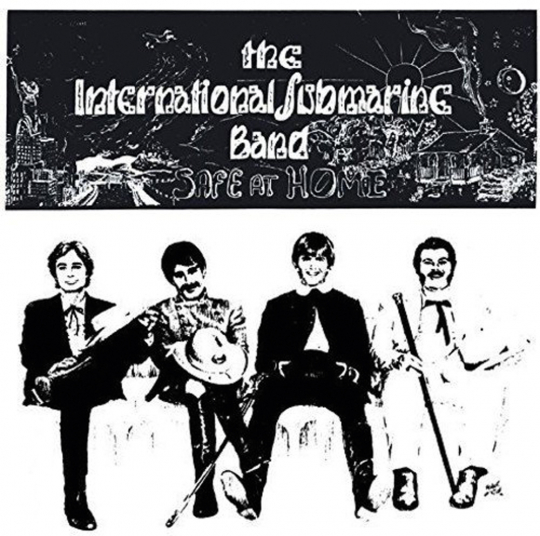 Gram Parsons and the International Submarine Band. Safe At Home. CD.