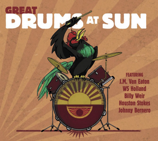 Great Drums At Sun Records. CD.