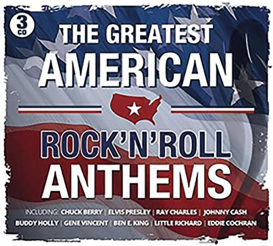 Greatest American Rock'n'Roll Anthems 3 CDs