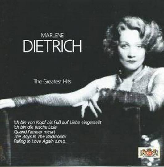 Marlene Dietrich. Greatest Hits. 1 CD.