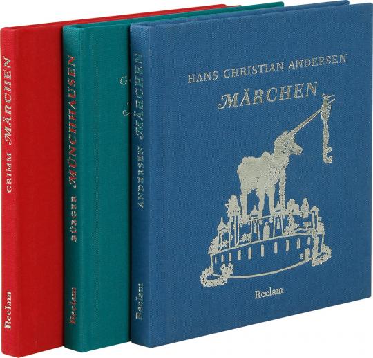 Grimm - Märchen. Bürger - Münchhausen. Andersen - Märchen.