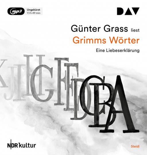 Grimms Wörter. Eine Liebeserklärung. 2 MP3-CDs.