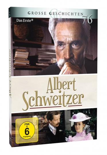 Grosse Geschichten - Albert Schweitzer. 2 DVDs