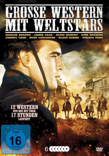 Große Western mit Weltstars. 6 DVDs.