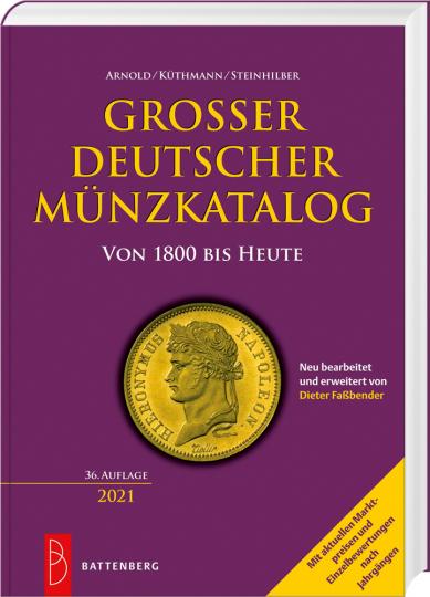 Großer deutscher Münzkatalog. von 1800 bis heute.