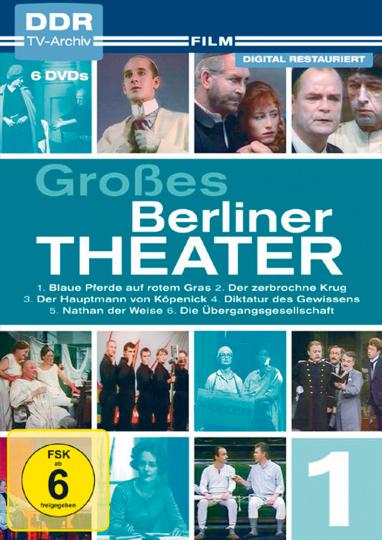 Großes Berliner Theater 3 DVDs