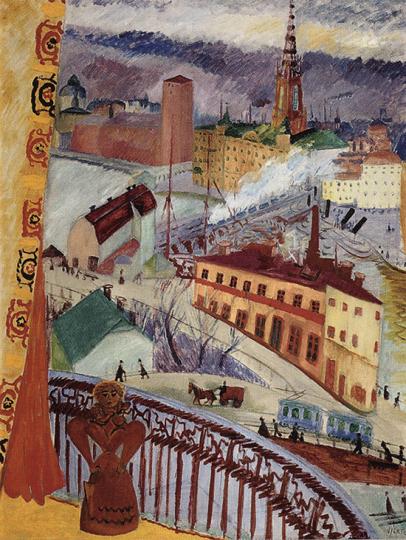 Großstadtbild und nordische Moderne. Untersuchungen zur Großstadtdarstellung in der skandinavischen Malerei von 1870 bis 1920.